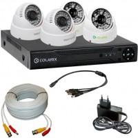 Комплект видеонаблюдения COLARIX Basic Dome Complex