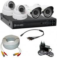 Комплект видеонаблюдения COLARIX Basic Bullet Complex