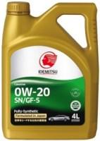 Моторное масло Idemitsu 0W-20 SN/GF-5 4L
