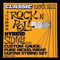Фото - Струны Ernie Ball Slinky Pure Nickel Wrap 9-46