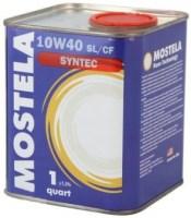 Моторное масло Mostela Syntec 10W-40 1L