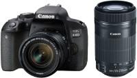 Фотоаппарат Canon EOS 800D kit 18-55 + 55-250