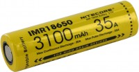 Аккумуляторная батарейка Nitecore IMR18650 3100 mAh 20 A