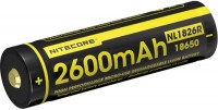 Аккумуляторная батарейка Nitecore NL1826R 2600 mAh