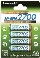 Аккумуляторная батарейка Panasonic High Capacity 4xAA 2700 mAh