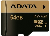 Карта памяти A-Data XPG microSDXC UHS-I U3 64Gb