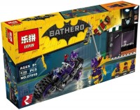 Конструктор Lepin Catwoman Catcycle Chase 07058