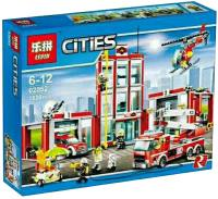 Фото - Конструктор Lepin Fire Station 02052
