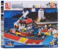Фото - Конструктор Sluban Fire Boat M38-B0630