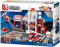 Конструктор Sluban Fire Station M38-B0631