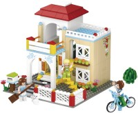 Конструктор Sluban Detached House M38-B0533