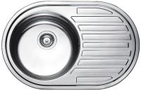 Кухонная мойка Fabiano Steel 77x50