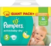 Фото - Подгузники Pampers Active Baby-Dry 5 / 88 pcs