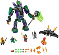 Фото - Конструктор Lego Lex Luthor Mech Takedown 76097