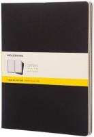 Блокнот Moleskine Set of 3 Squared Cahier Journals XXL Black