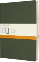 Блокнот Moleskine Set of 3 Ruled Cahier Journals XLarge Green