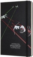 Фото - Блокнот Moleskine Star Wars Tie Fighter Notebook Black
