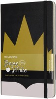 Фото - Блокнот Moleskine Snow White Ruled Notebook Black
