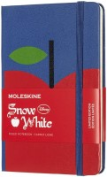 Блокнот Moleskine Snow White Ruled Notebook Pocket Blue