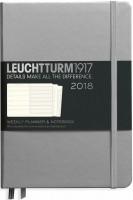 Ежедневник Leuchtturm1917 Weekly Planner Silver