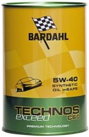 Моторное масло Bardahl Technos C60 5W-40 Exceed 1L