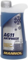 Охлаждающая жидкость Mannol Longterm Antifreeze AG11 Ready To Use 1L