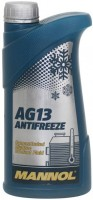 Охлаждающая жидкость Mannol Hightec Antifreeze AG13 Concentrate 1L