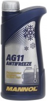 Охлаждающая жидкость Mannol Longterm Antifreeze AG11 Concentrate 1L