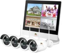 Комплект видеонаблюдения Partizan Outdoor Wireless Kit LCD 1MP 4xIP