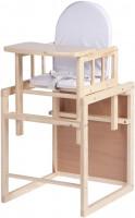 Стульчик для кормления Childhome Highchair Kit Cube Pine