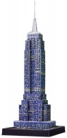 3D пазл Ravensburger Empire State Building Night Edition 125661