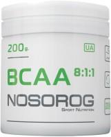 Фото - Аминокислоты Nosorog BCAA 8-1-1 200 g