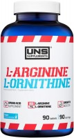 Фото - Аминокислоты UNS L-Arginine/L-Ornithine 90 tab