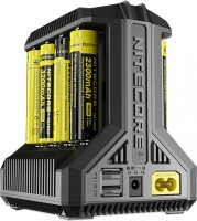Зарядка аккумуляторных батареек Nitecore Intellicharger i8