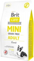 Фото - Корм для собак Brit Care Grain-Free Adult Mini Breed Lamb 2 kg