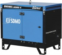 Фото - Электрогенератор SDMO Diesel 6500TE Silence AVR