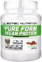 Протеин Scitec Nutrition Pure Form Vegan Protein 0.45 kg