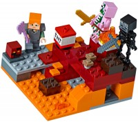 Фото - Конструктор Lego The Nether Fight 21139