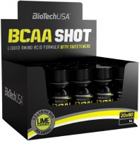 Фото - Аминокислоты BioTech BCAA Shot 20x60ml