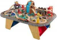 Автотрек / железная дорога KidKraft Waterfall Junction Train Set and Table 17498