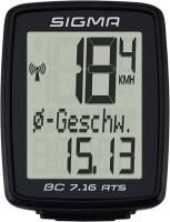Велокомпьютер / спидометр Sigma Sport BC 7.16 ATS