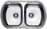 Кухонная мойка Fabiano Steel 80x49x2