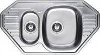Кухонная мойка Fabiano Steel 85x47x1.5