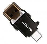 Картридер/USB-хаб A-Data USB-C OTG Reader