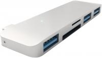 Картридер/USB-хаб Satechi Aluminum Type-C USB Hub