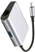 Картридер/USB-хаб BASEUS USB-C to RJ45 USB 3.0