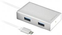 Картридер/USB-хаб Macally UC3HUB
