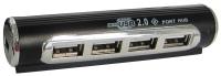 Картридер/USB-хаб Lapara LA-USB22-ALU