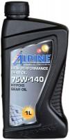 Трансмиссионное масло Alpine Syngear LS 75W-140 1L