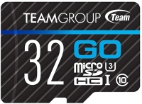 Карта памяти Team Group GO microSDHC UHS-I U3 32Gb